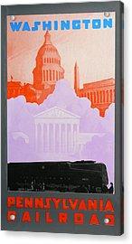 Washington Dc Acrylic Print by David Studwell