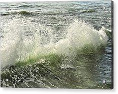 Waves Acrylic Print by Svetlana Sewell