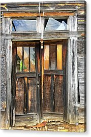 Welcome Acrylic Print by Susan Leggett