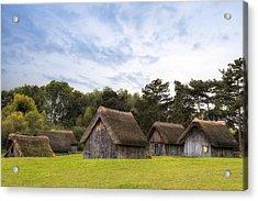 West Stow Anglo-saxon Village - England Acrylic Print by Joana Kruse