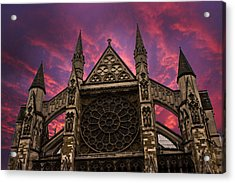 Westminster Abbey Acrylic Print by Martin Newman