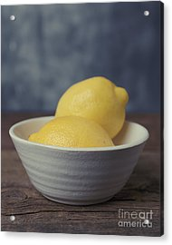When Life Gives You Lemons Acrylic Print by Edward Fielding