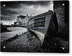 Whitstable Oysters Acrylic Print by Ian Hufton