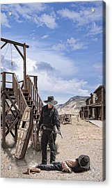 Wild Wild West Acrylic Print by Wendy White