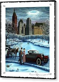 Winter Wonderland Acrylic Print by Tracy Dennison