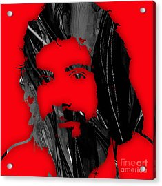 Cat Stevens Collection Acrylic Print by Marvin Blaine