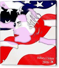 Hillary Clinton 2016 Collection Acrylic Print by Marvin Blaine