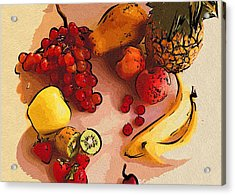 Pictures Food Acrylic Print by Michael Vicin
