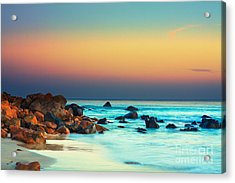Sunset Acrylic Print by MotHaiBaPhoto Prints