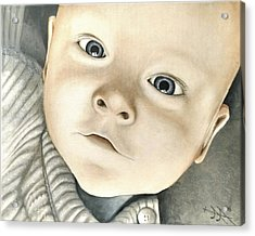Portrait Of Raphael, 1 Acrylic Print by Ramona Boehme