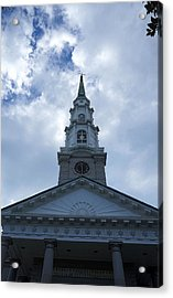 Independent Presbyterian Church Of Savannah Acrylic Print by Laurie Perry