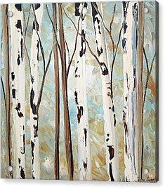 Abstract Landscape Acrylic Print by Jolina Anthony