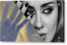 Adele Collection Acrylic Print by Marvin Blaine