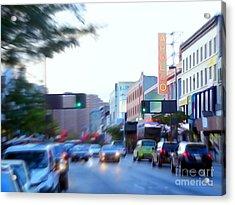 125th Street Harlem Nyc Acrylic Print by Ed Weidman