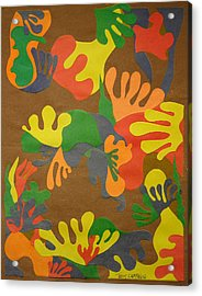 Untitled Acrylic Print by Teddy Campagna