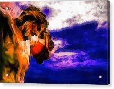 Jesus Christ - Religious Art Acrylic Print by Elena Kosvincheva
