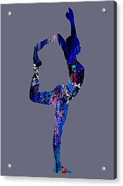 Yoga Collection Acrylic Print by Marvin Blaine