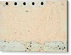 Peeling Paint Acrylic Print by Tom Gowanlock