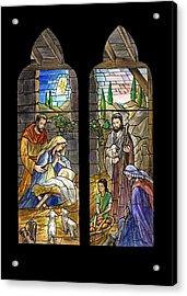 1857 Nativity Scene Acrylic Print by Munir Alawi