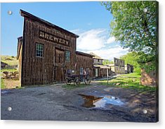 1863 H. S. Gilbert Brewery - Virginia City Ghost Town Acrylic Print by Daniel Hagerman