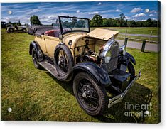 1928 Ford Model A  Acrylic Print by Adrian Evans