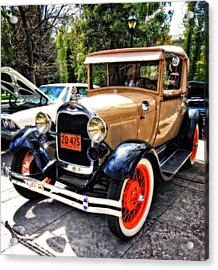 1929 Model A Ford Acrylic Print by Thom Zehrfeld