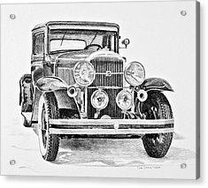 1931 Buick Acrylic Print by Daniel Storm