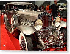 1932 Duesenberg Sj Turing Front Angle Acrylic Print by Wingsdomain Art and Photography
