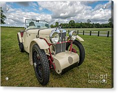 1933 Mg Sports Car Acrylic Print by Adrian Evans
