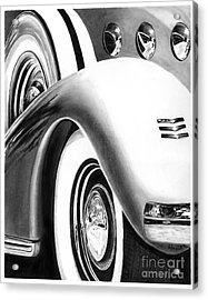1935 Lasalle Abstract Acrylic Print by Peter Piatt