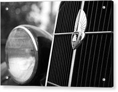 1935 Plymouth Emblem - Chrysler Motors Product Acrylic Print by Gordon Dean II