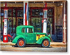 1940 Bantam Coupe 2 - Paint Acrylic Print by Steve Harrington