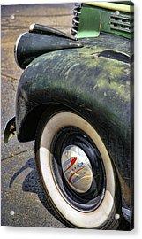 1946 Chevy Pick Up Acrylic Print by Gordon Dean II