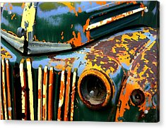 1947 Ford Acrylic Print by Jeff Gibford