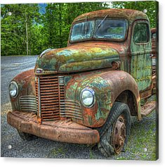 1947 International Harvester Company Truck Acrylic Print by Reid Callaway