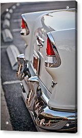1955 Chevrolet Belair Tail Lights Acrylic Print by Jill Reger