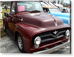 1955 Ford F100 Truck 7d15152 Acrylic Print by Wingsdomain Art and Photography