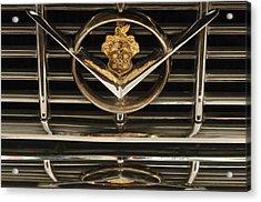 1955 Packard Hood Ornament Emblem Acrylic Print by Jill Reger