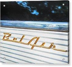 1957 Chevrolet Bel Air Acrylic Print by Theresa Tahara