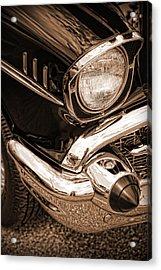 1957 Chevy Bel Air Acrylic Print by Gordon Dean II