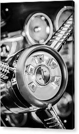 1958 Edsel Ranger Push Button Transmission 2 Acrylic Print by Jill Reger