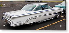 1960 Olds Eighty Eight 2023 Acrylic Print by Guy Whiteley