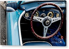 Acrylic Print featuring the photograph 1961 Austin Healey 3000 by M G Whittingham