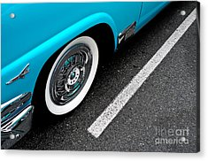 Acrylic Print featuring the photograph 1958 Ford Crown Victoria by M G Whittingham