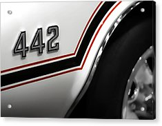 1970 Olds 442 Indy 500 Pace Car Acrylic Print by Gordon Dean II