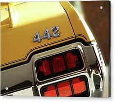1972 Oldsmobile Cutlass 4-4-2 Acrylic Print by Gordon Dean II