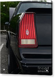 1988 Monte Carlo Ss Tail Light Acrylic Print by Paul Ward