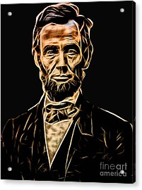 Abraham Lincoln Collection Acrylic Print by Marvin Blaine