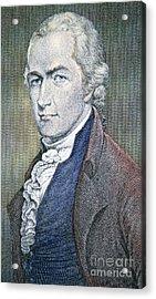 Alexander Hamilton Acrylic Print by American School