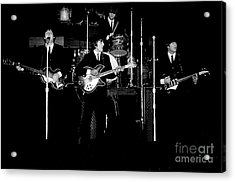 Beatles In Concert 1964 Acrylic Print by Larry Mulvehill